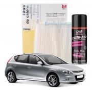 Filtro De Cabine Ar Condicionado Hyundai I30 2009 2010 2011 2012 + Spray Higienizador