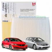 Filtro De Cabine Ar Condicionado New Civic 2007 À 2015 - Mahle MetalLeve LA1171