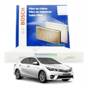 Filtro De Cabine Ar Condicionado Toyota Corolla 2015 À 2019 - Bosch 0986BF0558
