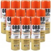 Kit 12 Unidades De Spray Limpa Contatos Orbi Química 300ml