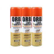 Kit 3 Unidades De Spray Limpa Contatos Orbi Química 300ml