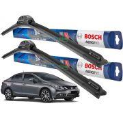 Palheta Limpador Para-brisa Bosch Aerofit Honda Civic 2012 2013 2014 2015 2016