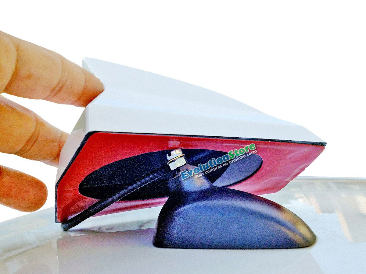 Antena Shark Decorativa Antico PRETA AN074  - EvolutionStore - Peças e Acessórios Automotivos