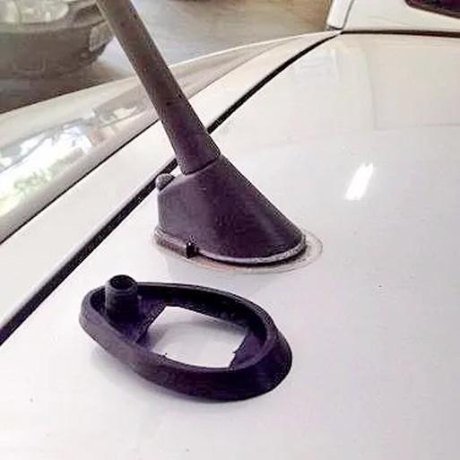 Borracha Vedação Antena + Haste Curta Para Astra Hatch  - EvolutionStore - Peças e Acessórios Automotivos