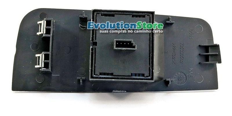 Botão Interruptor Vidro Elétrico Fiat Palio Strada Siena Duplo  - EvolutionStore - Peças e Acessórios Automotivos