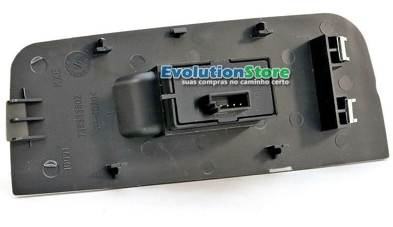 Botão Interruptor Vidro Elétrico Fiat Palio Strada Siena Simples  - EvolutionStore - Peças e Acessórios Automotivos