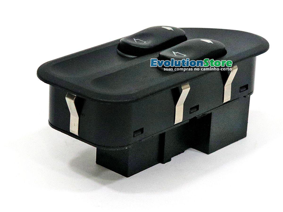 Botão Interruptor Vidro Elétrico Ford Fiesta Ecosport Duplo + Simples  - EvolutionStore - Peças e Acessórios Automotivos