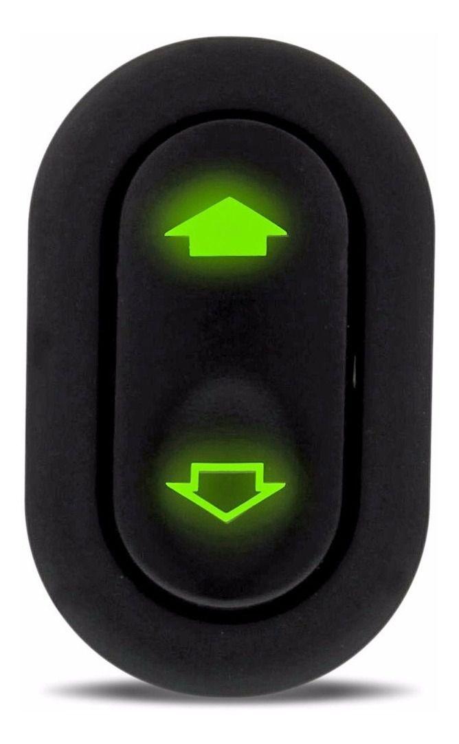 Botão Interruptor Vidro Elétrico Ford Fiesta Ecosport Simples  - EvolutionStore - Peças e Acessórios Automotivos