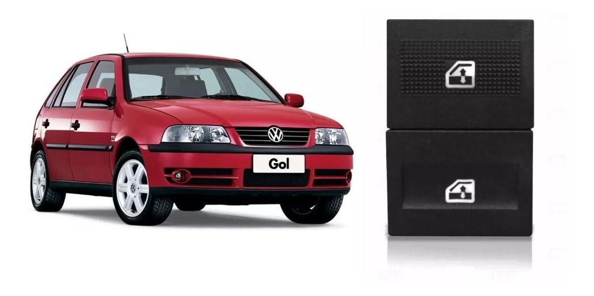 Botão Interruptor Vidro Elétrico Gol Parati Saveiro G3 Simples  - EvolutionStore - Peças e Acessórios Automotivos