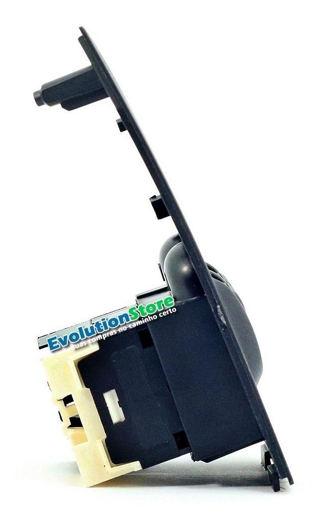 Botão Interruptor Vidro Elétrico Palio Fire Strada Siena Duplo  - EvolutionStore - Peças e Acessórios Automotivos