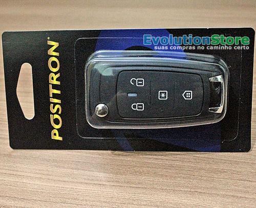 Controle Chave Canivete Original Pósitron Px80  - EvolutionStore - Peças e Acessórios Automotivos