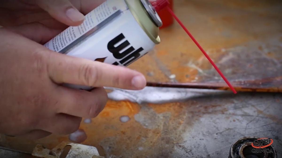 Spray Desengripante Orbi White Lub Super 300ml  - EvolutionStore - Peças e Acessórios Automotivos