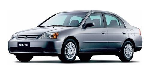 Filtro Ar Motor + Filtro De Cabine Civic 2001 ao 2005 + Spray Higienizador  - EvolutionStore - Peças e Acessórios Automotivos