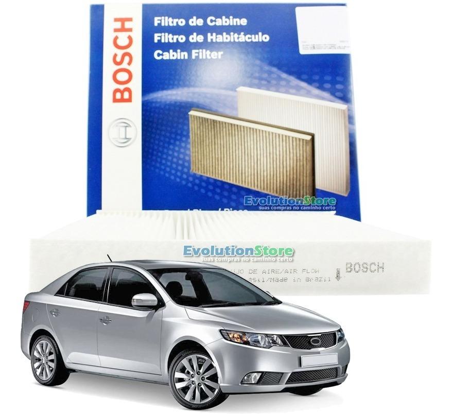 Filtro De Cabine Ar Condicionado Kia Cerato 2010 2011 2012 2013 | Bosch 0986BF0562  - EvolutionStore - Peças e Acessórios Automotivos