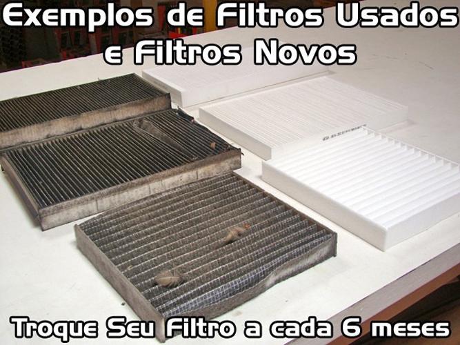Filtro De Cabine Ar Condicionado Bosch Kia Cerato 2010 2011 2012 2013 + Spray Higienizador  - EvolutionStore - Peças e Acessórios Automotivos