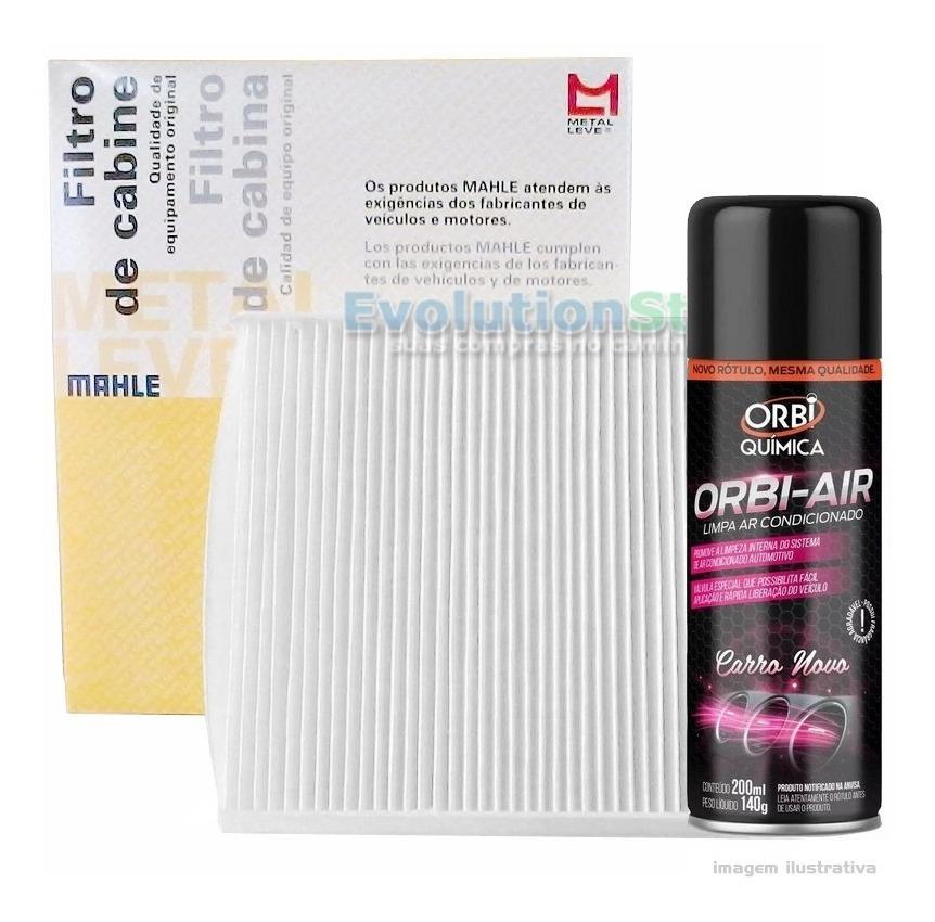 Filtro De Cabine Ar Condicionado Fiat Doblo Com Spray Higienizador   Mahle MetalLeve LA144  - EvolutionStore - Peças e Acessórios Automotivos