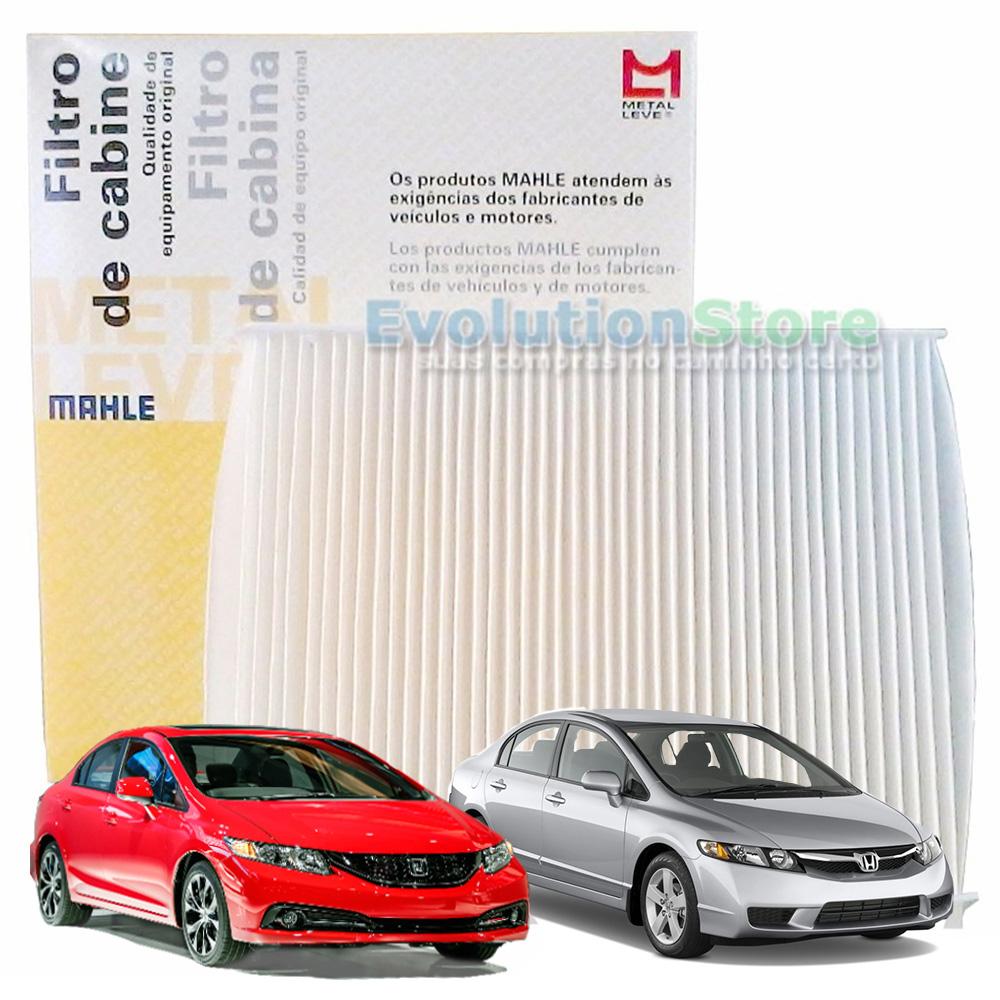 Filtro De Cabine Ar Condicionado New Civic 2007 À 2015 - Mahle MetalLeve LA1171  - EvolutionStore - Peças e Acessórios Automotivos