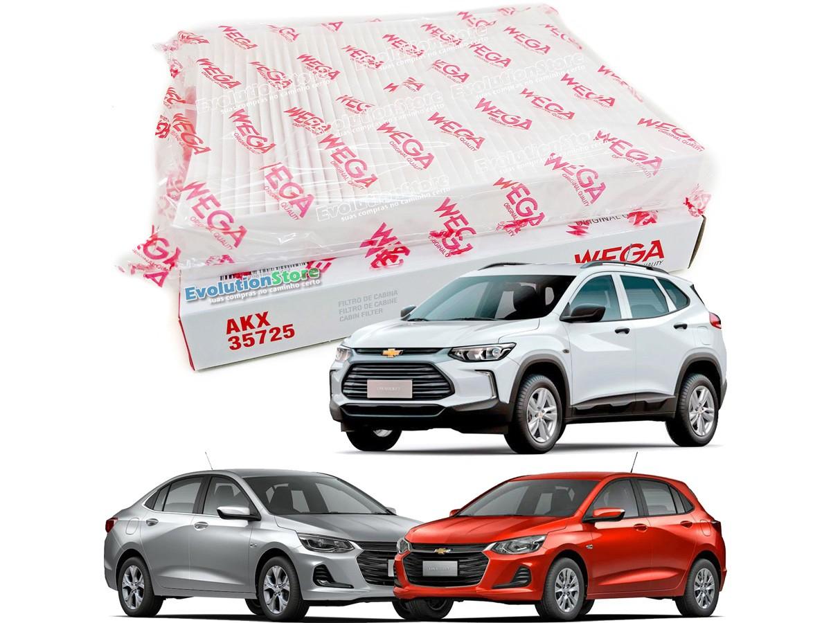 Filtro De Cabine Ar Condicionado Wega Nova Tracker 2020 2021 e Onix Plus 2020 Em Diante  - EvolutionStore - Peças e Acessórios Automotivos