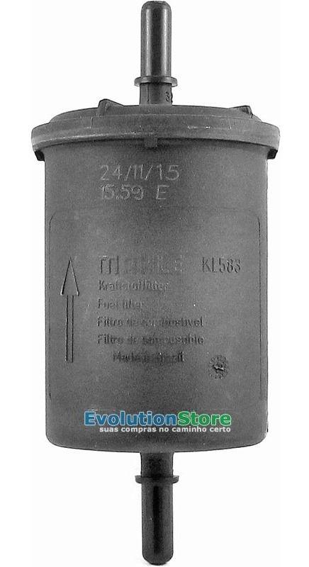 Filtro De Combustível Mahle Metalleve KL583  - EvolutionStore - Peças e Acessórios Automotivos
