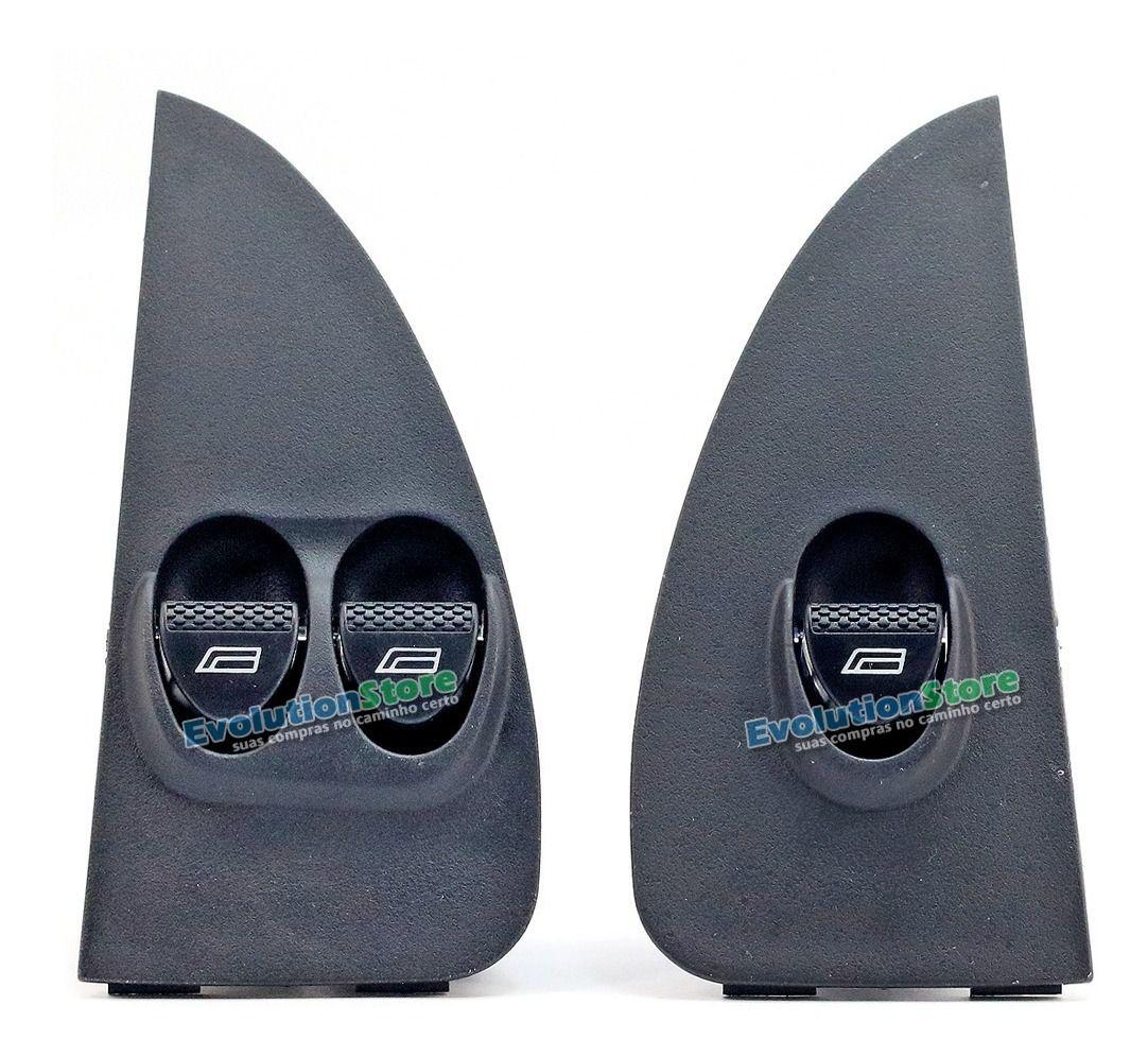 Kit Botão Interruptor Vidro Elétrico Palio Fire Strada Siena G2  - EvolutionStore - Peças e Acessórios Automotivos