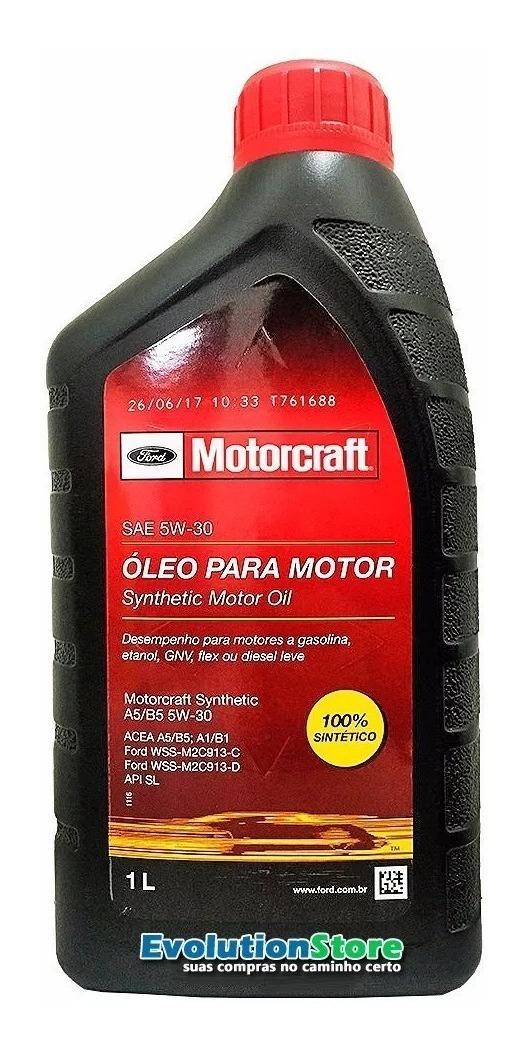 Kit De Filtro + 4 Motorcraft 5w30 Fiesta Ecosport Rocam  - EvolutionStore - Peças e Acessórios Automotivos