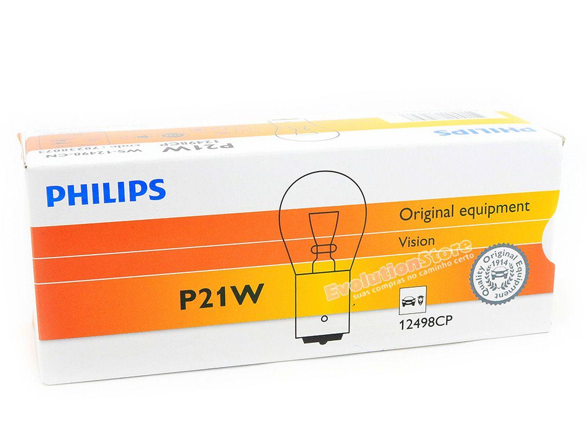 Lâmpada Comum 1 Polo 12v P21w Philips 12498 1141 Caixa Com 10 Unidades  - EvolutionStore - Peças e Acessórios Automotivos