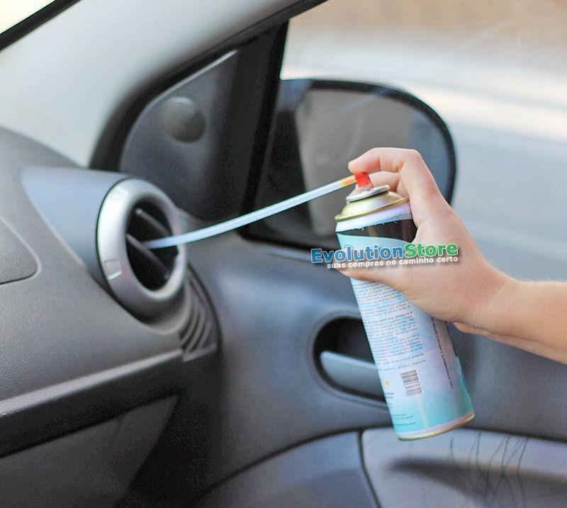 Limpa Ar Condicionado KN Sonda Lavanda Select Pro  - EvolutionStore - Peças e Acessórios Automotivos