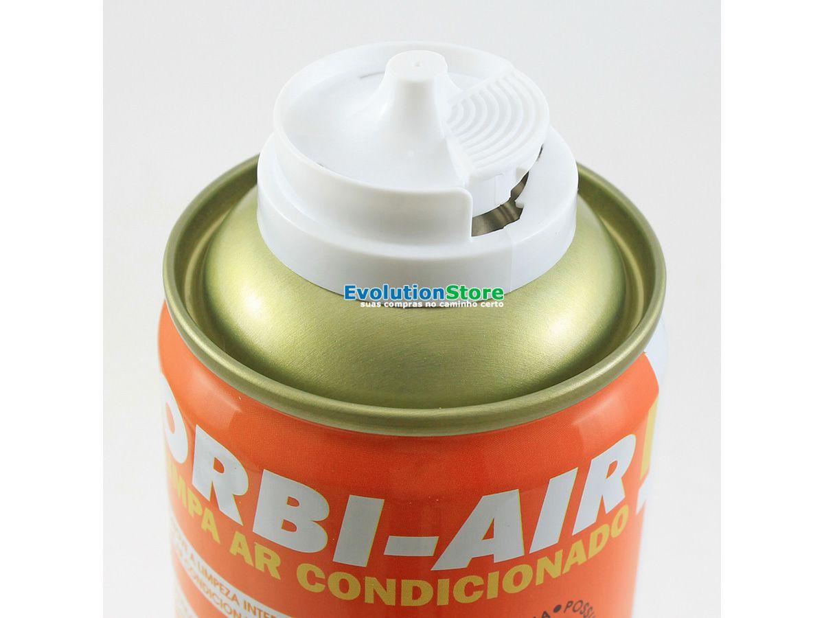 Limpa Ar Condicionado Orbi Air Floral 200ml 140g  - EvolutionStore - Peças e Acessórios Automotivos