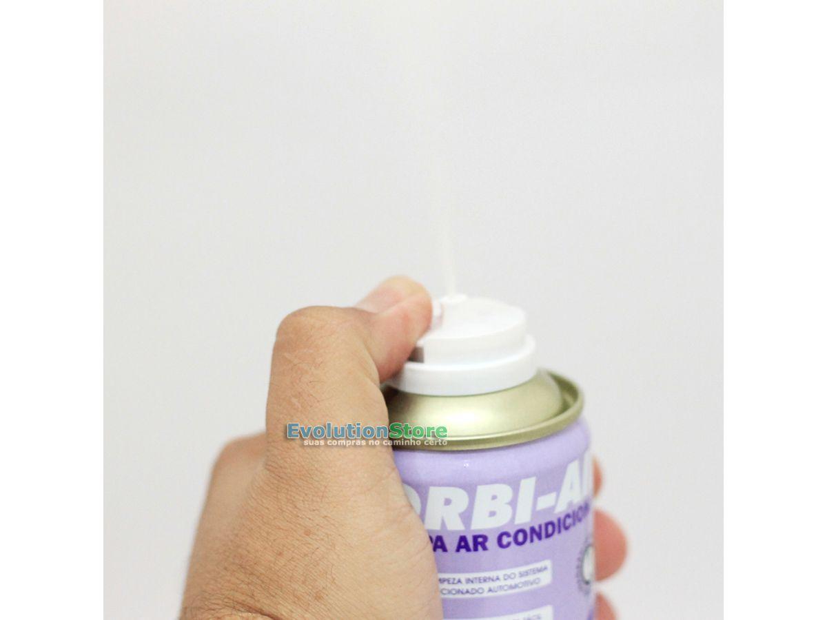 Limpa Ar Condicionado Orbi Air Lavanda 200ml 140g  - EvolutionStore - Peças e Acessórios Automotivos