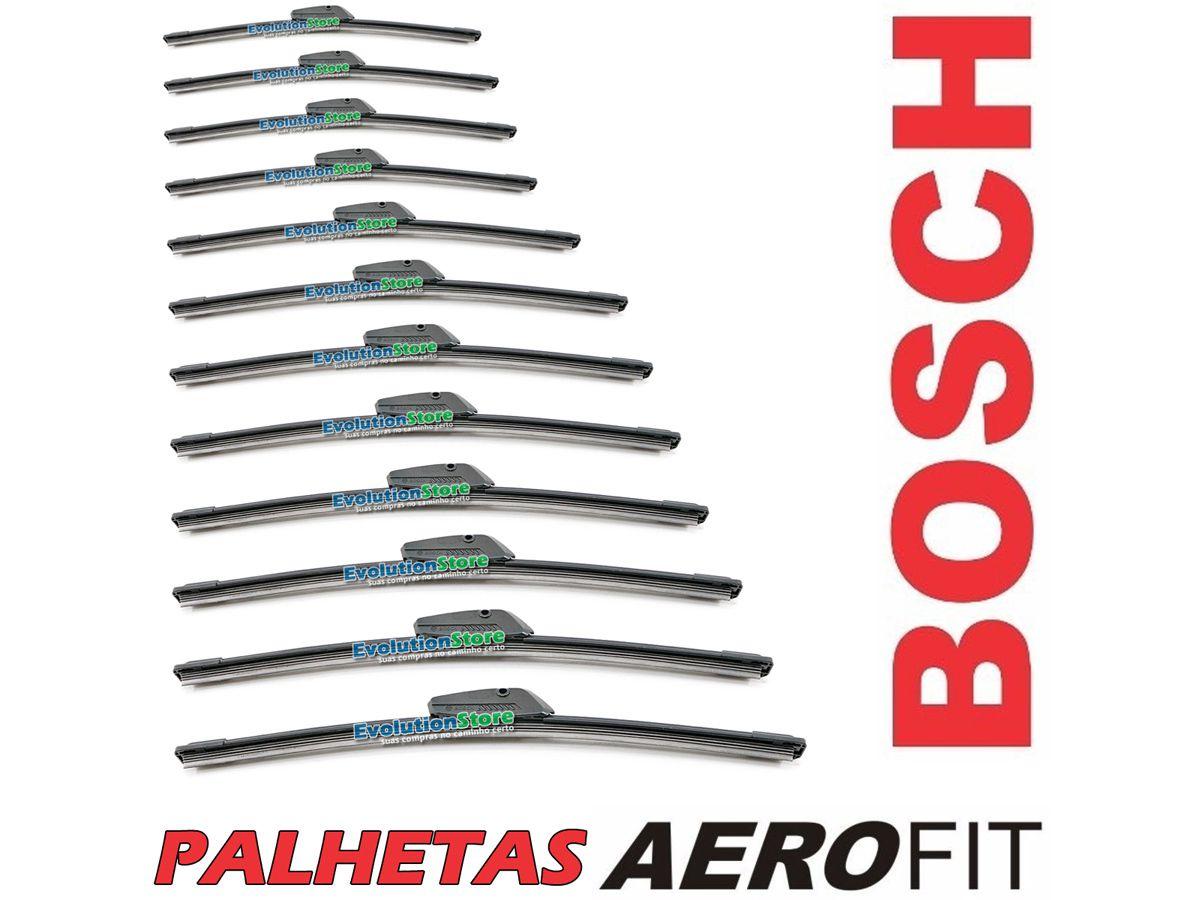 Palheta Bosch Aerofit Unitária, Nos Tamanhos Do AF14 Ao AF26  - EvolutionStore - Peças e Acessórios Automotivos