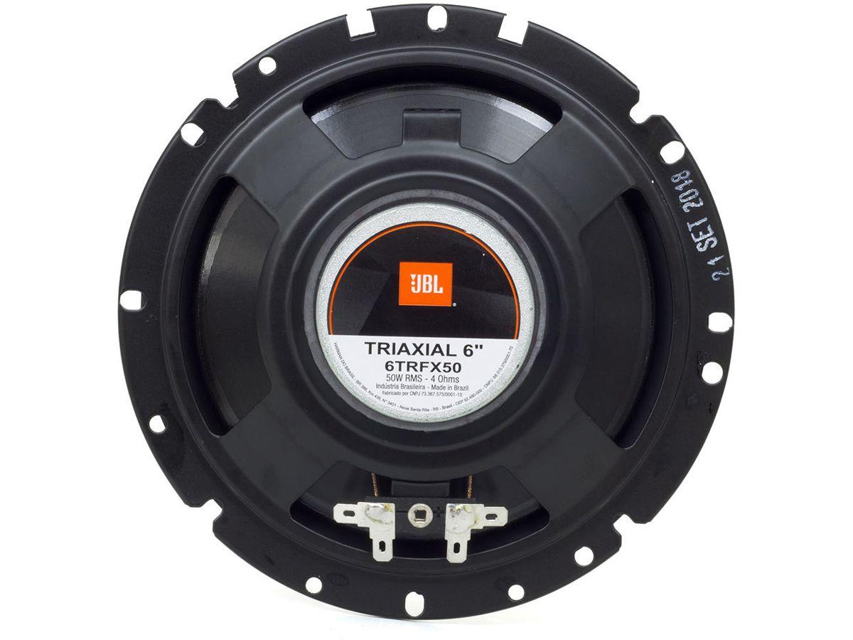 Par Alto Falantes JBL Triaxial 6 Polegadas 6TRFX50 100 Watts RMS  - EvolutionStore - Peças e Acessórios Automotivos