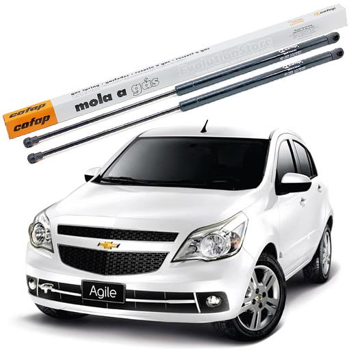 Par Amortecedor Cofap Porta Malas Agile 2009/2014  - EvolutionStore - Peças e Acessórios Automotivos
