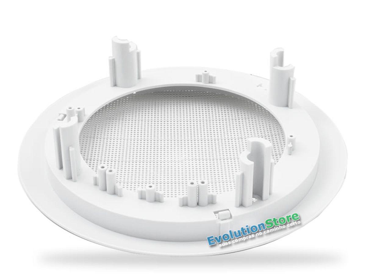 Par Arandela Redonda Com Alto Falante Bravox 80w Som Ambiente Gesso Embutir Teto  - EvolutionStore - Peças e Acessórios Automotivos