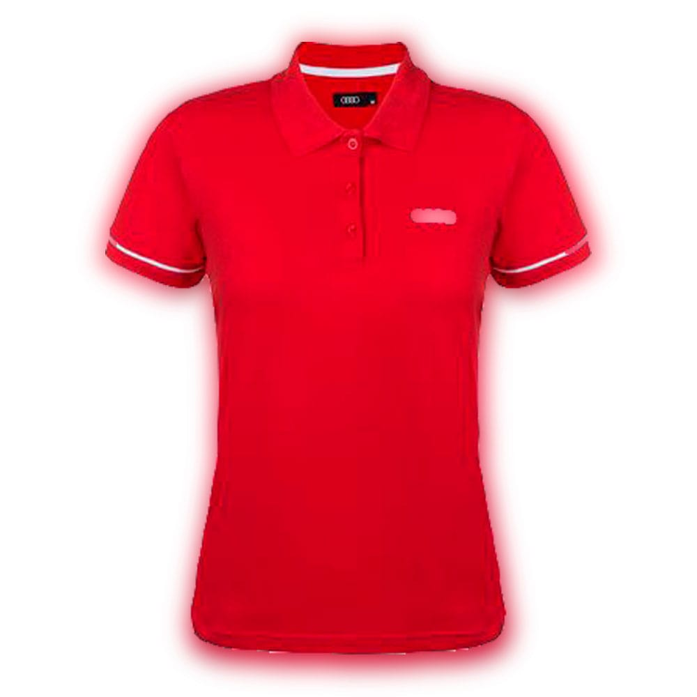 9c5188bc17da2 Camisa Polo Audi Vermelha Feminina PP -Audi-Camisas Polo ...