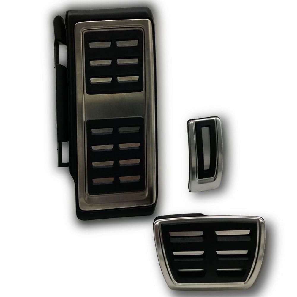 Pedaleiras em Aço escovado Audi A3