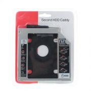 Adaptador Dvd Para Hd Ou Ssd Notebook Drive Caddy 12,7mm Sata