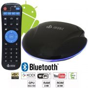 APARELHO CONVERSOR TV BOX SMART QUAD CORE 16GB ANDROID INFOKIT TVB-916G UFO 4K 3D HD BLUETOOTH WIFI