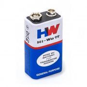 Bateria 9v Long Life 6f22m Hi-watt