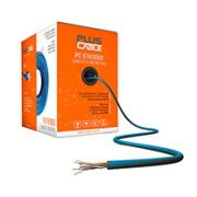CABO CFTV 4P AZUL 24 AWG CX C/300 MTS PC-ETH3000BL PLUS CABLE