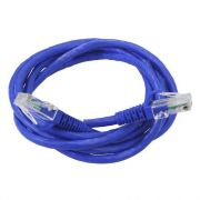 CABO DE REDE 10M PATCH CORD CAT5 DE 10MT AZUL CR10