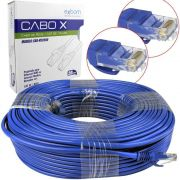CABO DE REDE RJ45 CAT5E AZUL 50M EXBOM CBX-N5C500 02817