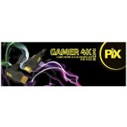 Cabo Hdmi Pix 2.0 4k Gamer Plug 90 Gr 2m 018-0120
