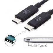 CABO USB-C ( TIPO C ) PARA USB-C ( TIPO C ) 1.0M CARREGAMENTO RAPIDO 03434