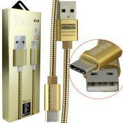 CABO USB TYPE C METALIZADO 1M ARTIST SERIES SHINKA SJX-II-TPC