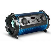CAIXA DE SOM KOLKE 40W RMS PORTATIL BLUETOOTH USB/SD/P2/FM/KARAOKE AZUL KPM-222 - 627048