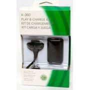Carregador E Bateria Para Controle Xbox360 48000mah En-007