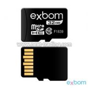 CARTAO DE MEMORIA 32GB MICRO SD (TF ) AMAZENAMENTO DE DADOS EXBOM STGD-TF32G
