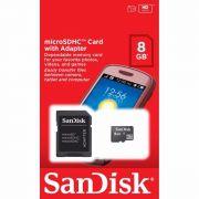 Cartão De Memória Sandisk 8gb Micro Sd-hc Classe 4 Original.