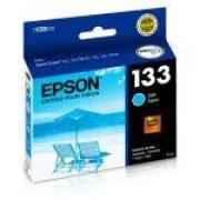 Cartucho EPSON T133220 - T22 / T25 / TX235W / TX320F / TX120 / TX123 / TX125 / TX135 / TX420W / TX430 - Original - Ciano