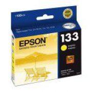 Cartucho EPSON T133420 - T22 / T25 / TX235 / TX320F / TX120 / TX123 / TX125 / TX135 / TX420W - Original - Amarelo - 5ml